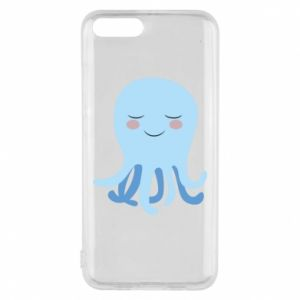 Phone case for Xiaomi Mi6 Blue Jellyfish - PrintSalon