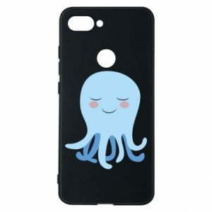 Phone case for Xiaomi Mi8 Lite Blue Jellyfish - PrintSalon
