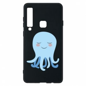 Phone case for Samsung A9 2018 Blue Jellyfish - PrintSalon