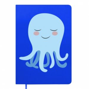 Notepad Blue Jellyfish - PrintSalon
