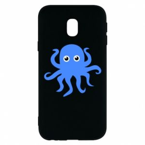 Phone case for Samsung J3 2017 Blue octopus - PrintSalon