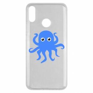 Etui na Huawei Y9 2019 Blue octopus