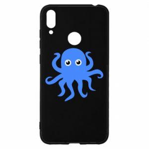 Etui na Huawei Y7 2019 Blue octopus