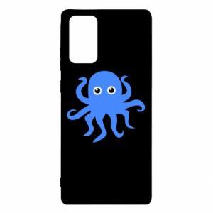 Etui na Samsung Note 20 Blue octopus