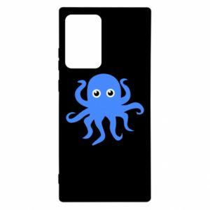 Etui na Samsung Note 20 Ultra Blue octopus