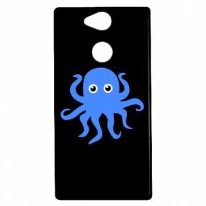 Etui na Sony Xperia XA2 Blue octopus