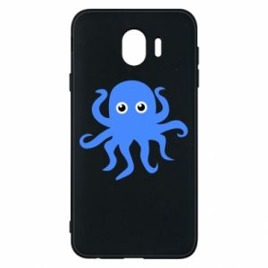Phone case for Samsung J4 Blue octopus - PrintSalon