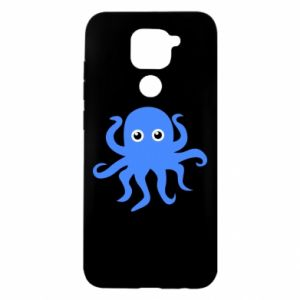 Etui na Xiaomi Redmi Note 9/Redmi 10X Blue octopus