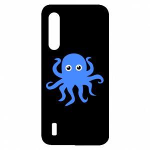 Etui na Xiaomi Mi9 Lite Blue octopus
