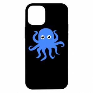 Etui na iPhone 12 Mini Blue octopus