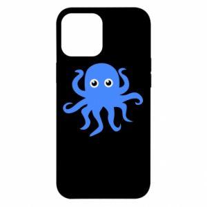 Etui na iPhone 12 Pro Max Blue octopus