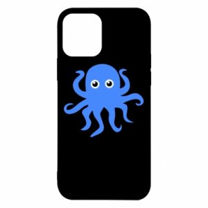 Etui na iPhone 12/12 Pro Blue octopus