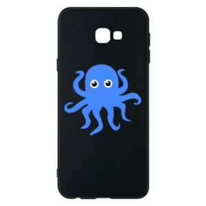 Phone case for Samsung J4 Plus 2018 Blue octopus - PrintSalon