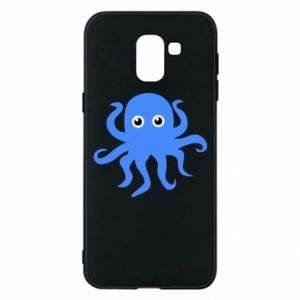 Phone case for Samsung J6 Blue octopus - PrintSalon