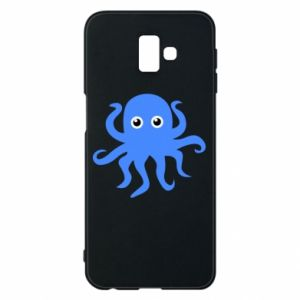 Phone case for Samsung J6 Plus 2018 Blue octopus - PrintSalon