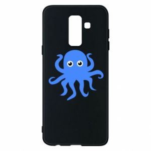 Phone case for Samsung A6+ 2018 Blue octopus - PrintSalon