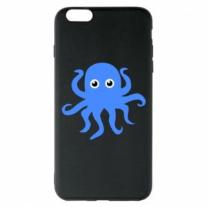 Phone case for iPhone 6 Plus/6S Plus Blue octopus - PrintSalon