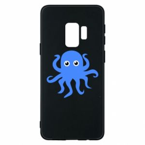 Phone case for Samsung S9 Blue octopus - PrintSalon