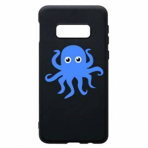 Phone case for Samsung S10e Blue octopus - PrintSalon
