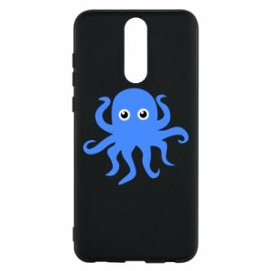 Phone case for Huawei Mate 10 Lite Blue octopus - PrintSalon