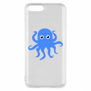 Phone case for Xiaomi Mi6 Blue octopus - PrintSalon