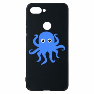Phone case for Xiaomi Mi8 Lite Blue octopus - PrintSalon