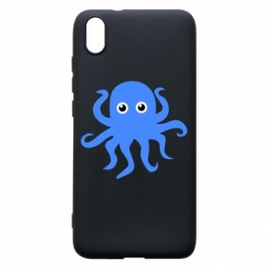 Phone case for Xiaomi Redmi 7A Blue octopus - PrintSalon