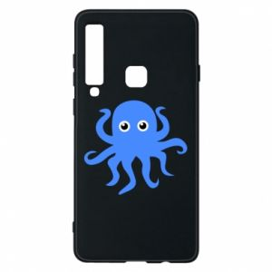 Phone case for Samsung A9 2018 Blue octopus - PrintSalon