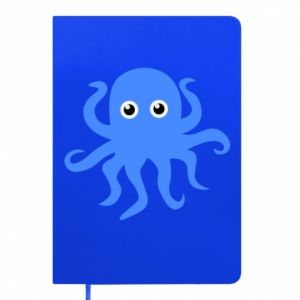 Notepad Blue octopus - PrintSalon