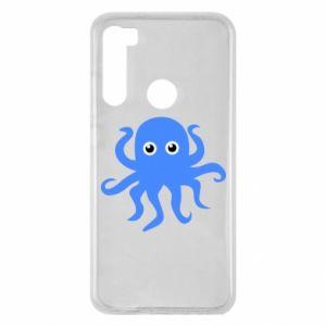 Etui na Xiaomi Redmi Note 8 Blue octopus