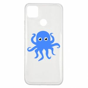 Etui na Xiaomi Redmi 9c Blue octopus