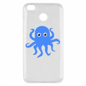 Etui na Xiaomi Redmi 4X Blue octopus