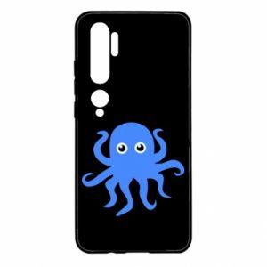 Etui na Xiaomi Mi Note 10 Blue octopus
