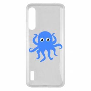 Etui na Xiaomi Mi A3 Blue octopus