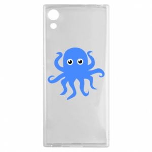 Etui na Sony Xperia XA1 Blue octopus