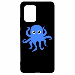Etui na Samsung S10 Lite Blue octopus