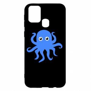 Etui na Samsung M31 Blue octopus
