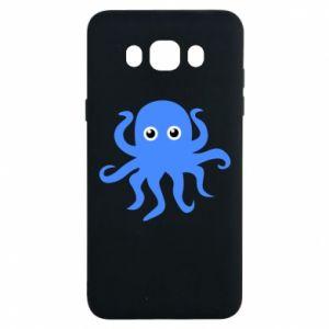 Etui na Samsung J7 2016 Blue octopus