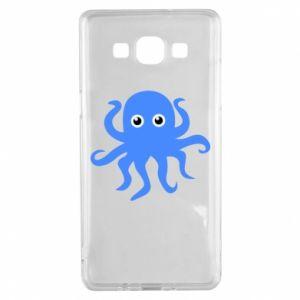 Etui na Samsung A5 2015 Blue octopus