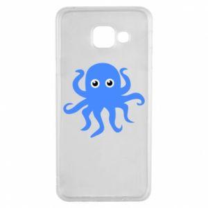 Etui na Samsung A3 2016 Blue octopus