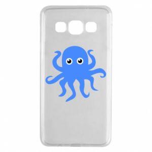 Etui na Samsung A3 2015 Blue octopus