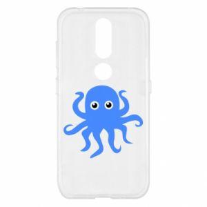 Etui na Nokia 4.2 Blue octopus