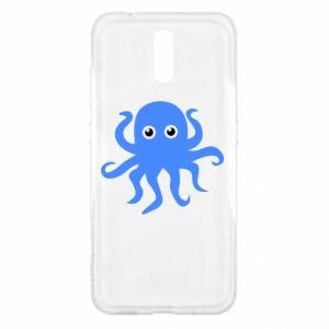 Etui na Nokia 2.3 Blue octopus
