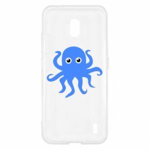 Etui na Nokia 2.2 Blue octopus