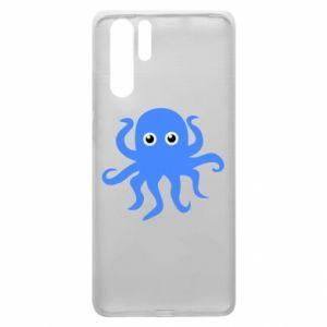 Etui na Huawei P30 Pro Blue octopus