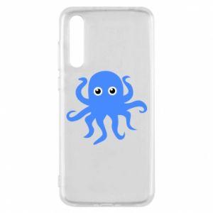 Etui na Huawei P20 Pro Blue octopus