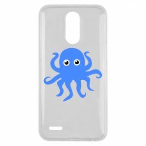 Etui na Lg K10 2017 Blue octopus