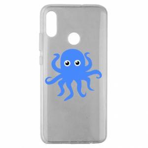 Etui na Huawei Honor 10 Lite Blue octopus