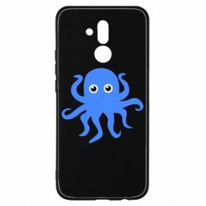 Etui na Huawei Mate 20 Lite Blue octopus
