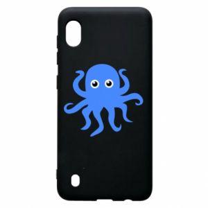 Etui na Samsung A10 Blue octopus